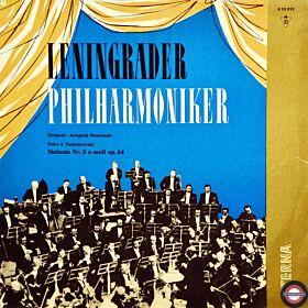 Tschaikowski: Sinfonie Nr.5 - mit Mrawinski (Mono;1962)