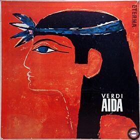 Verdi: Aida - Gesamtaufnahme (Box mit 3 LP) - II