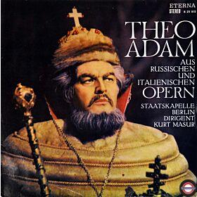 Adam: Russische/italienische Opernarien (Stereo)