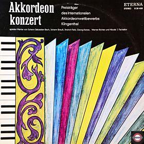 Akkordeon-Wettbewerb: Preisträger musizieren