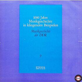 Musikgeschichte (IX) - die DDR von 1949 bis '78 (2 LP)