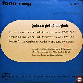 Bach: Cembali-Konzerte