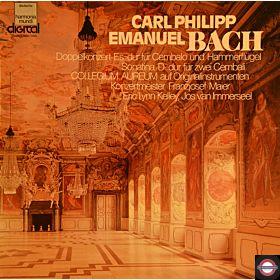 Bach, C.P.E. : Konzert für Cembalo+Hammerflügel ...