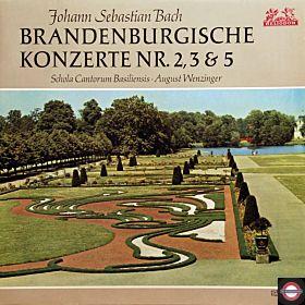 Bach: Brandenburgische Konzerte - Nr. 2, 3 und 5