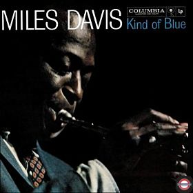 MILES DAVIES — Kind of Blues [Blue Vinyl]
