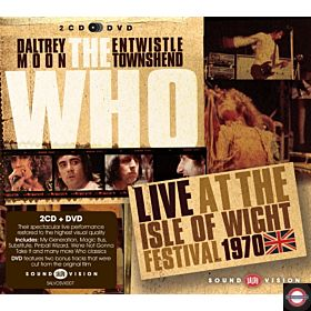 THE WHO — Live At The Isle Of Wight Festival 1970 (Ltd. Numb. Edition)