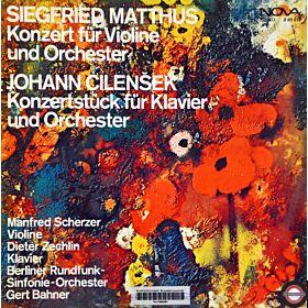 Matthus/Cilenšek: Violinkonzert/Stück für Klavier