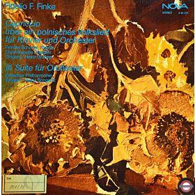 Finke: Capriccio für Klavier und Suite Nr.3 für Orchester
