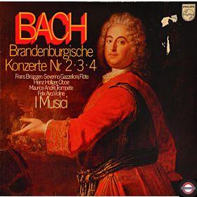 Bach: Brandenburgische Konzerte - Nr. 2, 3 und 4