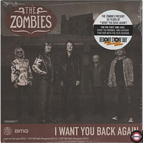 "The Zombies ‎– I Want You Back Again - /7"" Single"