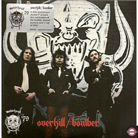 "Motörhead ‎– Overkill / Bomber - 7"" Single"