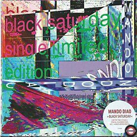 "Mando Diao – Black Saturday - 7"" Single"