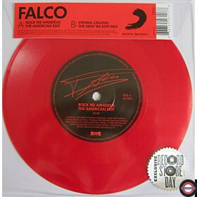 "Falco ‎– Rock Me Amadeus (The American Edit) / Vienna Calling (The New '86 Edit / Mix) 7"" Single"