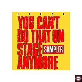 Frank Zappa - You Can't Do That On Stage Anymore (Coloured 2LP) RSD 24.10.2020