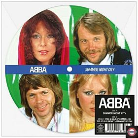 Abba - Summer Night City (LTD. 7inch Picture Single)