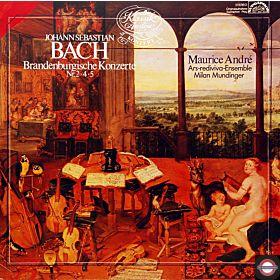 Bach: Brandenburgische Konzerte - Nr.2, 4 und 5