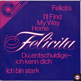"""Felicita (7"""" Amiga-Quartett-Serie)"""