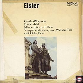 Eisler: Goethe-Rhapsodie, Chöre, Sonette ... Triptyhon