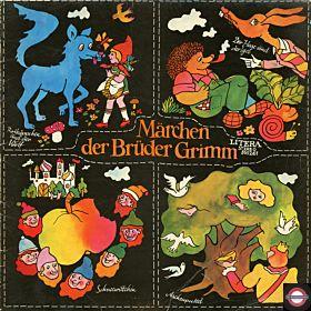Brüder Grimm- Rotkäpchen, Schneewittchen u.a. ( Litera 8 65 261)